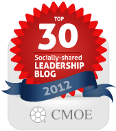 Tanveer Naseer - Rank #10- CMOE Top 30 Socially-Shared Leadership Blogs