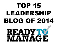 Tanveer Naseer - Top 15 Leadership Blog of 2014 - ReadyToManage