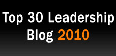 Top 30 Leadership Blog 2010