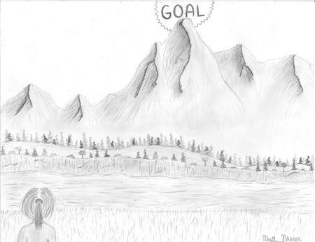 Alya Naseer original illustration