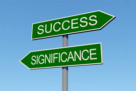 Movin beyond success to significance