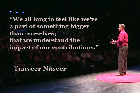 Is passion all we really need to be happy and successful? In this engaging and humorous talk, Tanveer Naseer shares two personal stories that reveal how purpose leads us to the life we were meant to live.