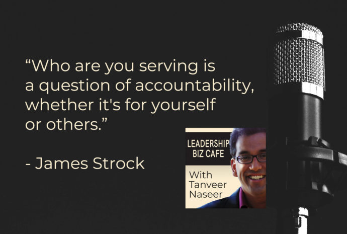 Award-winning leadership writer and enterpreneur Jim Strock shares 4 questions that can help leaders improve the way they lead.