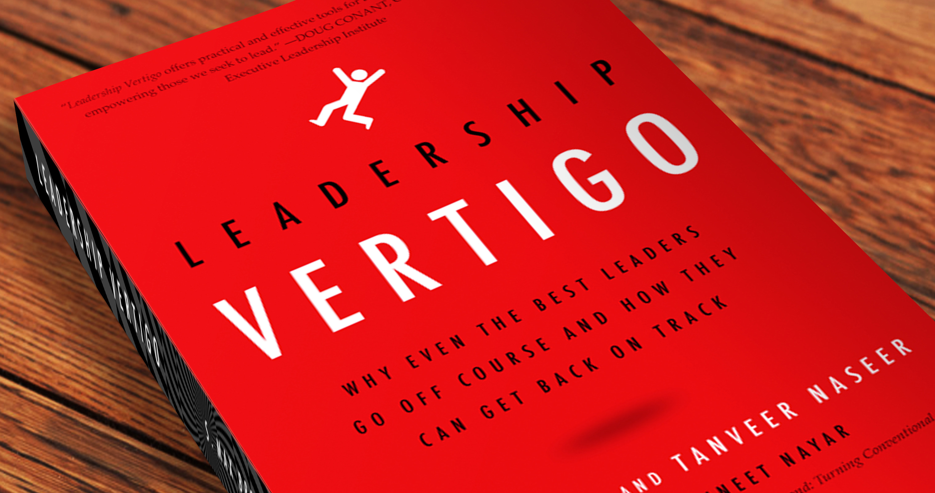 Leadership Vertigo book by Tanveer Naseer
