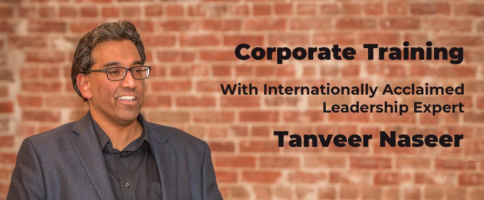 Tanveer Naseer - Corporate Training