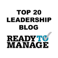 Top 20 Leadership Blog - ReadyToManage