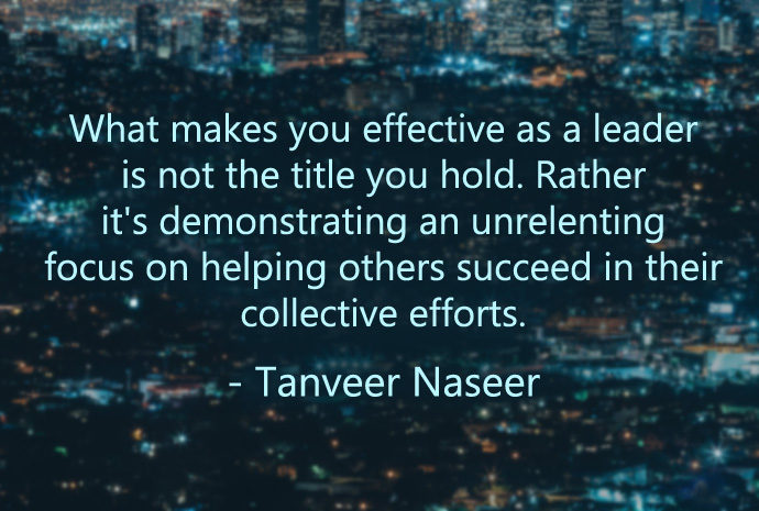 A stranger's impromptu gesture to help others reveals why you don't need a title to lead others, but four more crucial factors.